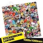 Stickerbomb Nr. 10 1000x1000