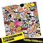 Stickerbomb Nr. 5 1000x1000