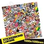 Stickerbomb Nr. 7 1000x1000