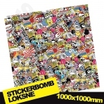 Stickerbomb Nr. 11 1000x1000