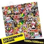 Stickerbomb Nr. 8 1000x1000