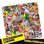Stickerbomb Nr. 3 1000x1000
