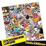 Stickerbomb Nr. 6 1000x1000