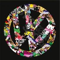 VW Stickerbomb Logo