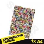 Stickerbomb Nr. 11 1x A4