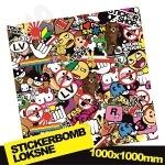 Stickerbomb Nr. 2 1000x1000