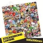 Stickerbomb Nr. 10 500x500