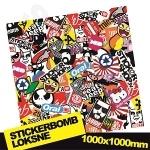 Stickerbomb Nr. 4 1000x1000