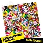 Stickerbomb Nr. 3 500x500